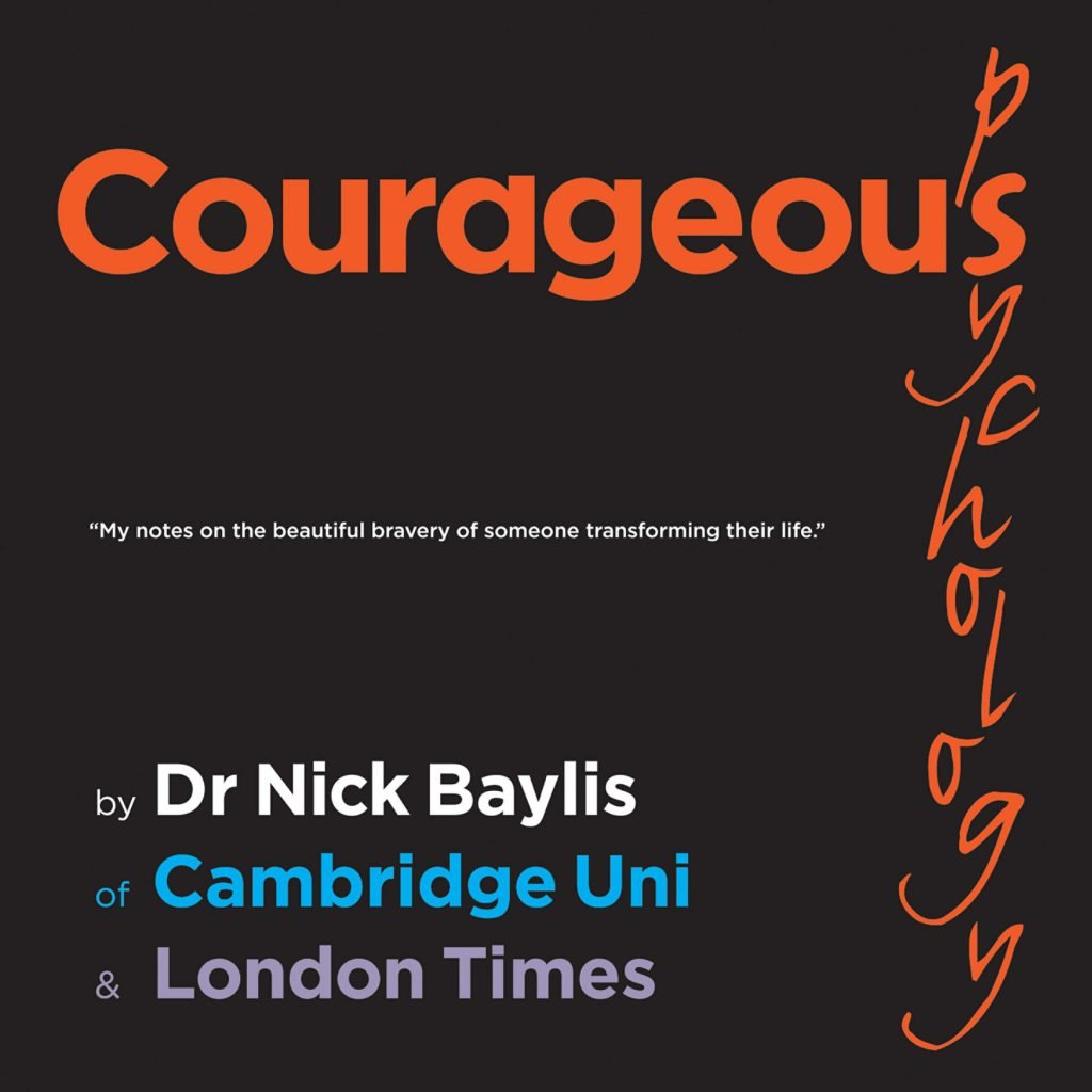 Courageous psychology front cover