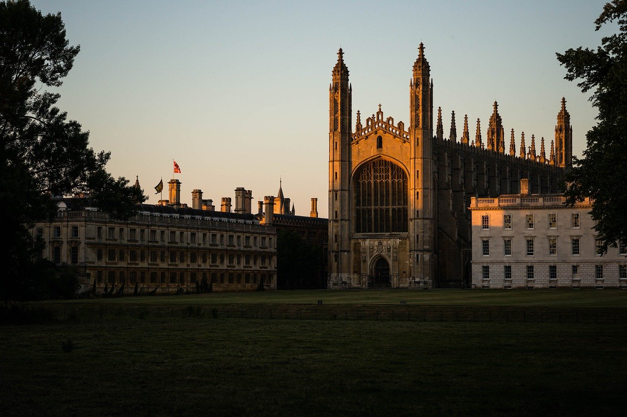 Kings College at Dusk